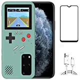 Game Case for Samsung Galaxy S10, Retro 3D Protective Cover Case with 36 Small Game, Full Color Display, Shockproof Video Gam