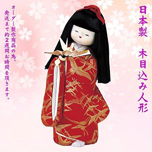 """[해외]일본 인형 일제 木目?人形 완제품 """"시집가는 날의 꿈 `NO.1017-01-272/Japanese doll made in Japan Wooden Eye Doll Completed Product """"Dreams of My Husband"""" NO.1017-01-272"""