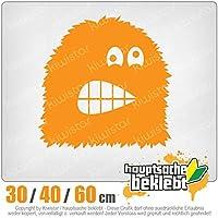 KIWISTAR - Fuzzy monster comic 15色 - ネオン+クロム! ステッカービニールオートバイ