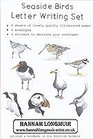 レターセット 海辺の鳥たち 便箋8枚 ステッカー4枚 封筒4枚 イギリス