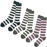 スキーソックス 3足組 レディース 大人用 スキーウェア 靴下 3P スポーツソックス 3色組 22~25cm