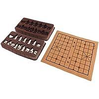 SONONIA ポータブル ヴィンテージ 中国 伝統的 チェス 樹脂 テラコッタの戦士 チェスピース 手芸品 グッズ ギフト