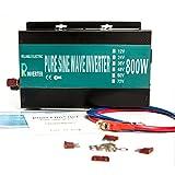 WZRELB 純正弦波 パワーインバーター コンバーター 800W DC 12V AC 100V 電力変換器 逆変換装置