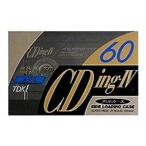 TDK メタルテープ 60分 CDing-IV シリーズ最高音質 メタルサウンド CDING4-60R