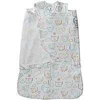 Halo Sleepsack 100 % Cotton Swaddle – Elephant – 新生児