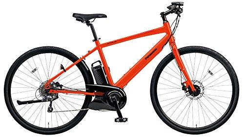 Panasonic(パナソニック) 2018年モデル ジェッター BE-ELHC44A-K(フレームサイズ440mm) カラー:マットバーニングリーブス 電動アシスト自転車 専用急速充電器付
