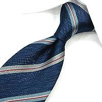 ネクタイ ブランド レノマ ネクタイ (8cm幅) RE48 ブルー/ライトブルー [並行輸入品]