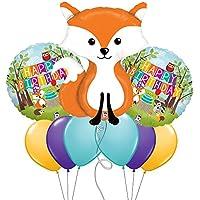 FoxウッドランドクリッターテーマMylar Balloon Bouquet