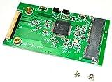 【Wepperin wolks】 m SATA SSD を 1.8 インチ ZIF に 変換 アダプター 基板 モジュラー JM20330 CE パソコン の SSD 化 に 最適