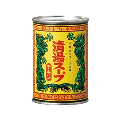 MCフードスペシャリティーズ 清湯スープ チキン 4号缶×24