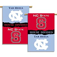 Bsi Products 96817 2-Sided 28'' X 40'' Banner W/ Pole Sleeve - N. Carolina - Nc State