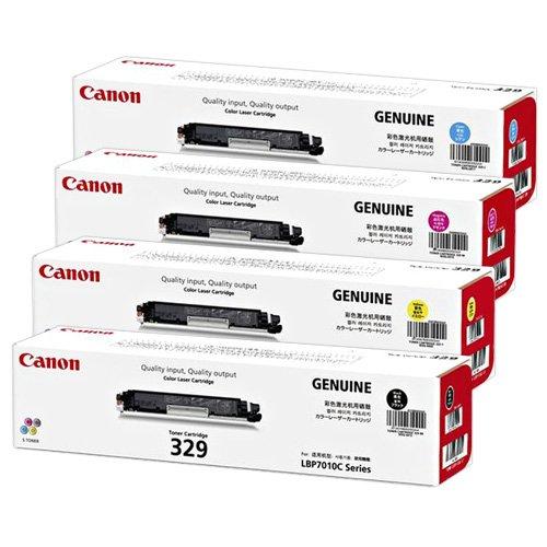 CANON トナーカートリッジ329 純正品 4色セット