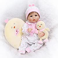 NPKDOLLシミュレーションRebornベビー人形ソフトSiliconeビニール18インチ45 cm Lifelike Vivid Toy Boy Girl rd55 C178