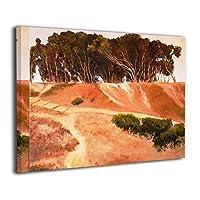 ブルームン アートパネル 30×40 野原 夕焼け フレーム 壁飾り アートフレーム アートポスター インテリア 枠なし