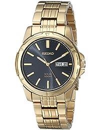【デッドストック/アウトレット品】 SEIKO(セイコー) SNE100 SOLAR/ソーラー メタルベルト ゴールド メンズウォッチ 腕時計[並行輸入品]