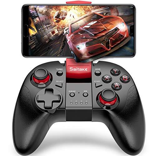 Mobileコントローラー BEBONCOOL 連射機能搭載 スマホコントローラー TELEC認証 PUBGに対応 Android/IOSに対応 ワイヤレスゲームコントローラーBluetooth接続 スマホ ゲームパット