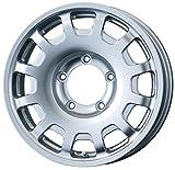 エンケイ アルミホイール all four 16 x 5.5J +20 5H 139.7 Sparkle Silver AL4-655-20-5M-S