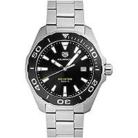[タグホイヤー] TAG HEUER 腕時計 アクアレーサー 300m 43ミリ クォーツ ブラック WAY101A.BA0746 メンズ 新品 [並行輸入品]