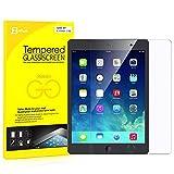 JEDirect iPad Air 1 / 2, iPad Pro 9.7, 新型 iPad 9.7 (2017) 液晶保護 強化ガラス フィルム,高精細度ガラス保護フィルム - 0338