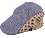 (ビグッド)Bigood キッズ ハンチング帽 男の子 キャスケット 鳥打ち帽 ベレー帽子 子供 キャップ 女の子 春夏 グレー