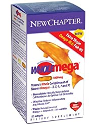 New Chapter - Wholemega 1,000 mg 120 softgels by New Chapter