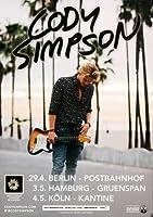 Cody Simpson–新しい問題2015–コンサートポスター