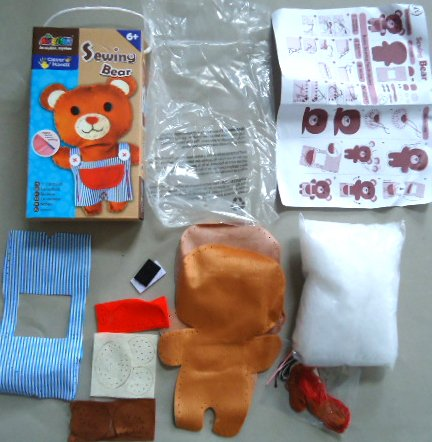 『Creative Kiddie Sewing Crafts for Kids Teddy Bear DIY Kit for Boys and Girls Ages 5 to 12』の1枚目の画像