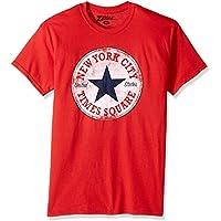 Zubaz Men's NYC Graphic Souvenir T-Shirt