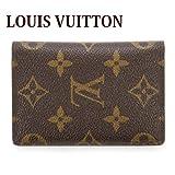 ルイヴィトン LOUIS VUITTON カードケース メンズ レディース オーガナイザー・ドゥポッシュ モノグラム M60502