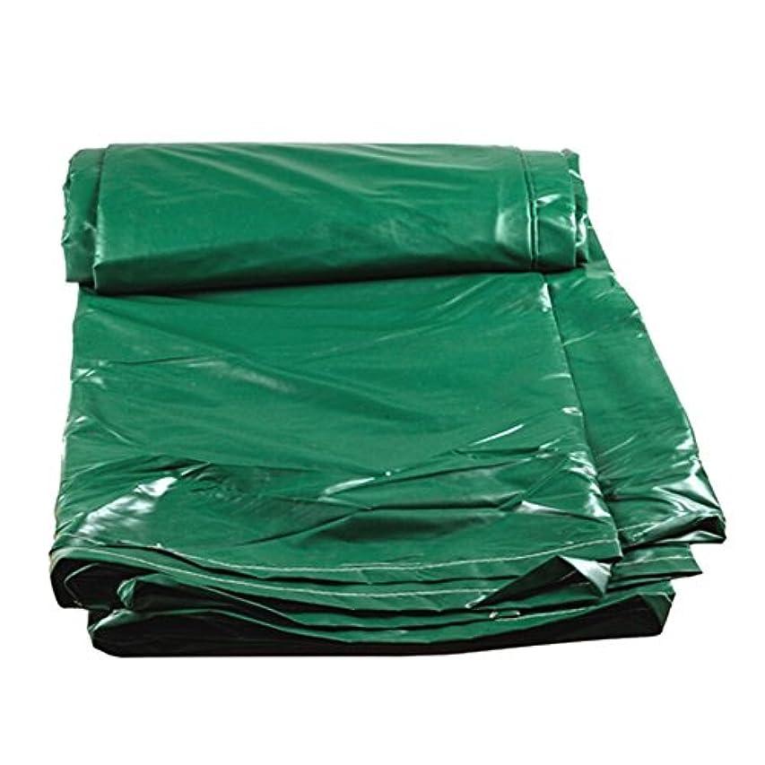 役立つ霧十分な12J-weihuiwangluo 屋外テント防水シート屋外防水防水シート両面防湿貨物防塵布高温アンチエイジング (Color : 緑, サイズ : 3x4M)