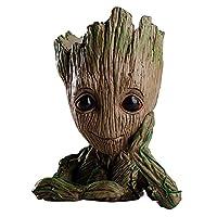 ファッションGuardians Of The Galaxy Flowerpot GrootアクションフィギュアモデルおもちゃかわいいペンポットBest Gifts For Kids