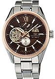[オリエント]ORIENT 腕時計 ORIENT STAR オリエントスター モダンスケルトン ORIENT65周年記念モデル 機械式 自動巻き(手巻き付き) ブラウン SDK05005T0 メンズ 逆輸入品 [並行輸入品]
