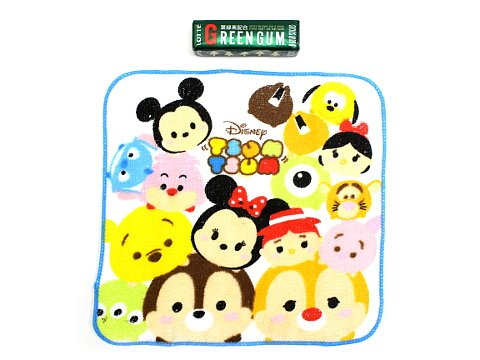(ディズニー)Disney ディズニー かわいい ミニ タオル TM ツムツム 8枚 セット