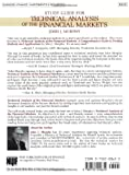 Study Guide for Technical Analysis of the Financial Markets (New York Institute of Finance) 画像