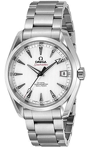 [オメガ]OMEGA 腕時計 シーマスター アクアテラ ホワイト文字盤 コーアクシャル自動巻 231.10.39.21.54.001 メンズ 【並行輸入品】