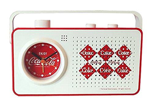 コカ コーラ ブランド ラジオ/アラームクロック PJC-JJ10 Diamond  生活家電 電化製品 コカ コーラ 時計