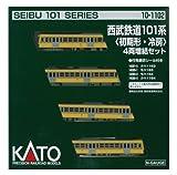 KATO Nゲージ 西武鉄道 101系 初期形・冷房 増結 4両セット 10-1102 鉄道模型 電車