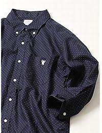 (コーエン) COEN オックスフォード七分袖ドットプリントシャツ 75106038030