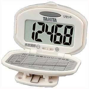タニタ(TANITA) 歩数計 PD-635 WH