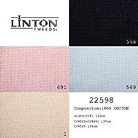 生地 LINTON TWEEDS リントン ツイード イギリス製 レディース用 4色展開 50cm単位カット対応 22598