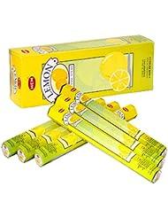HEM(ヘム) レモン LEMON スティックタイプ お香 6筒 セット [並行輸入品]