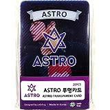 ASTRO アストロ グッズ / 透明 フォトカード 25枚セット - TRANSPARENT CARD 25pcs [TradePlace K-POP 韓国製]