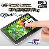 RAmos T8 4.3インチTFT液晶搭載 MP3/MP4/MP5プレーヤー 8GB