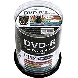 HI-DISC データ用DVD-R HDDR47JNP100 (16倍速/100枚)