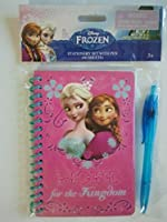 Disney Frozen Stationery Set with Pen(60 Sheets)- HOPE for the Kingdom 【You&Me】 [並行輸入品]