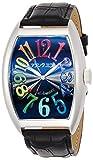 [フランク三浦]MIURA 腕時計 ジャパンクオーツ 六号機(改) 正回転 禁断の巨大化モデル 完全非防水 FM06K-CRB