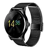K88H Smart Watch スマートウォッチ Bluetooth 4.0 歩数計 心拍計 睡眠モニター 座りすぎ注意 遠隔カメラ リモート音楽 着信通知 Android /IOS/日本語対応
