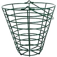 perfk スチールワイヤー ゴルフレンジスチールワイヤバケット ゴルフボールコンテナバスケット 全2サイズ - フィット100ボール