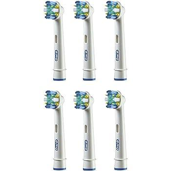 ブラウン オーラルB 電動歯ブラシ 替ブラシ 歯間ワイパー付きブラシ(フロスアクション) 6本入り EB25-6-EL