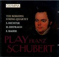 The Borodin String Quartet, Sviatoslav Richter, David Oistrakh, Frida Bauer. Schubert